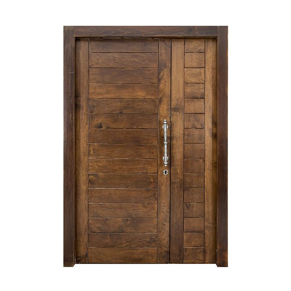 דלתות כניסה עץ מלא
