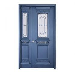 דלת כניסה כנף וחצי יווני